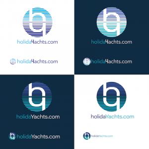 holidayachts logo design refinement