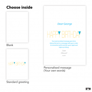 personalised name age birthday card for him party night bth047 inside 1